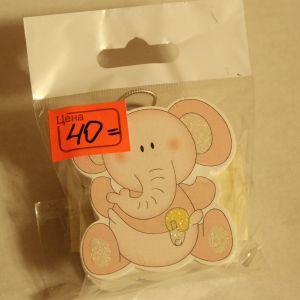 ! прищепка слоник, ячейка: 108