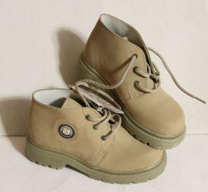 ! ботинки демисез беж дев размер 25, ячейка: 126