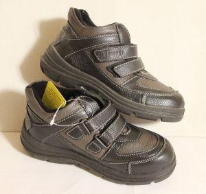 ! ботинки натур кожа черн утепл размер 30, ячейка: 126