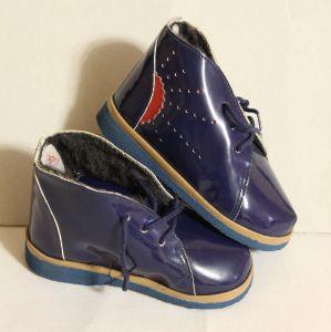 ! ботинки син утепл мальч размер 135, ячейка: 126