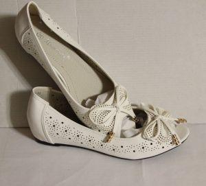 ! балетки бел размер 34, ячейка: 128