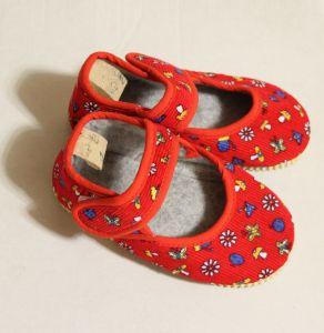 ! детс тапочки-туфельки крас размер 140, ячейка: 141