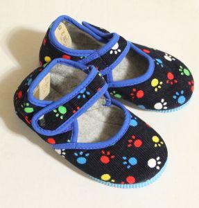 ! детс тапочки-туфельки следы размер 150, ячейка: 141