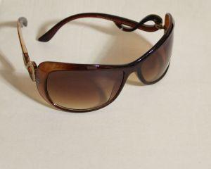 ! женс очки солнцезащ корич 01, ячейка: 143