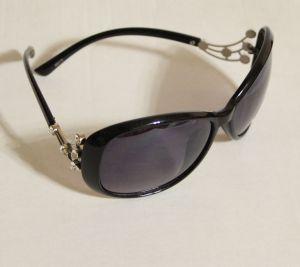 ! женс очки солнцезащ черн 01, ячейка: 143
