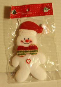 ! снеговик украш, ячейка: 96