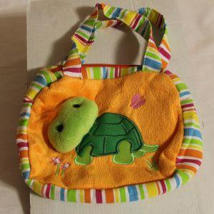 ! сумка детс черепаха кор руч ткань, ячейка: 71