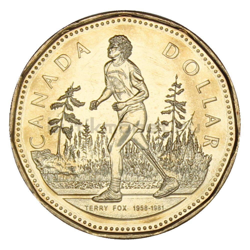 1 доллар 2005 Канада 25 лет Марафону Надежды