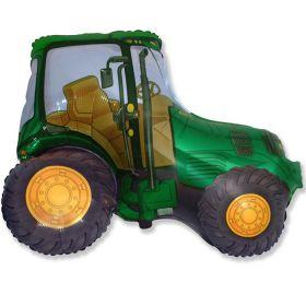 """Трактор (зелёный),  37""""/74*94 см"""