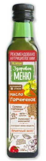 Горчичное масло Здоровое меню 250 мл