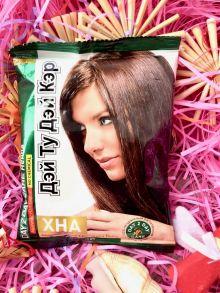 Хна - Аюрведическая краска для волос Дэй Ту Дэй Кэр 50 гр