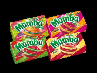 Жев. конфета Мамба 2в1 27,5г
