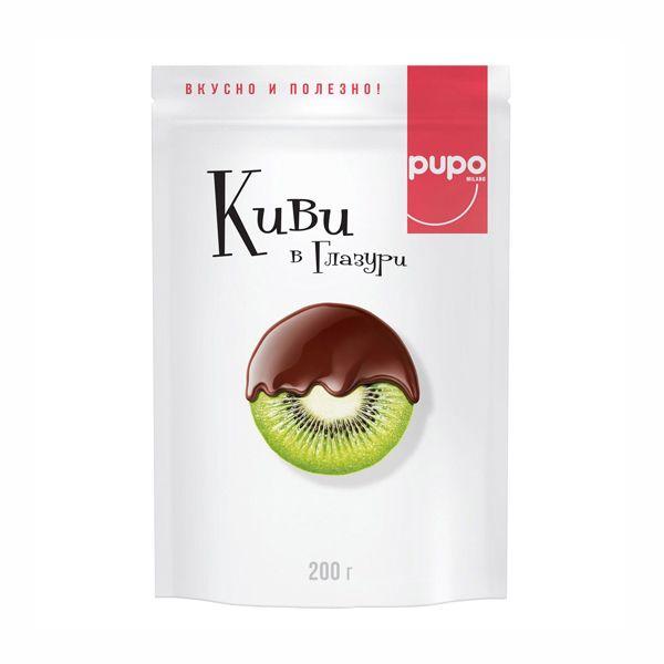Киви PUPO в шоколадной глазури 200г