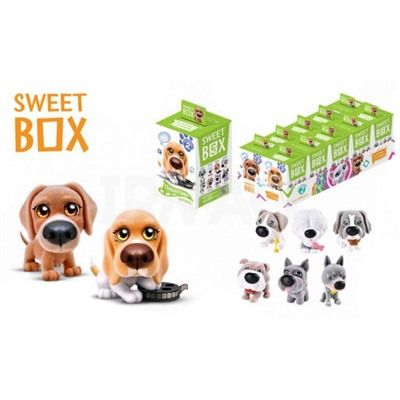 Мармелад с игрушкой SweetBox Щенята Доггивуд 10г