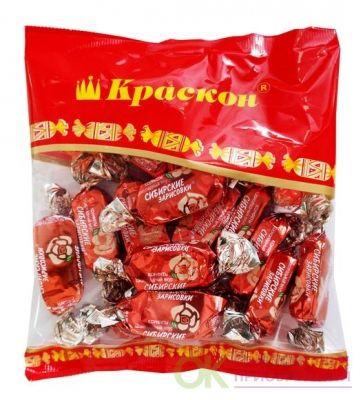 Конфеты Сибирские зарисовки-шоколад.вкус 200г Краскон