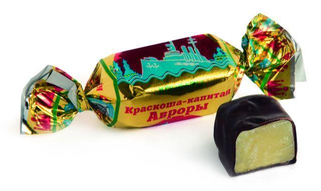 Конфеты Краскоша-капитан Авроры 200г Краскон