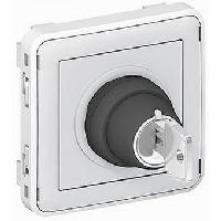 69534 Plexo Выключатель с ключом 2 положения, контакты 2НО Legrand
