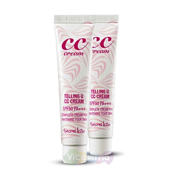 Secret Key СС крем для увлажнения и сияния Telling U CC Cream SPF50+ PA+++, 30 мл