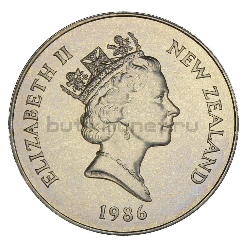 1 доллар 1986 Новая Зеландия Какапо