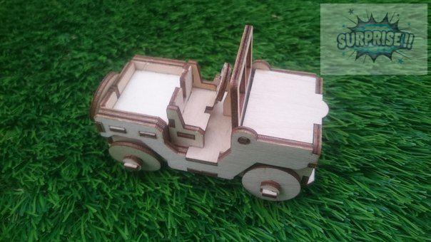 «Военный джип» машинка для солдатиков