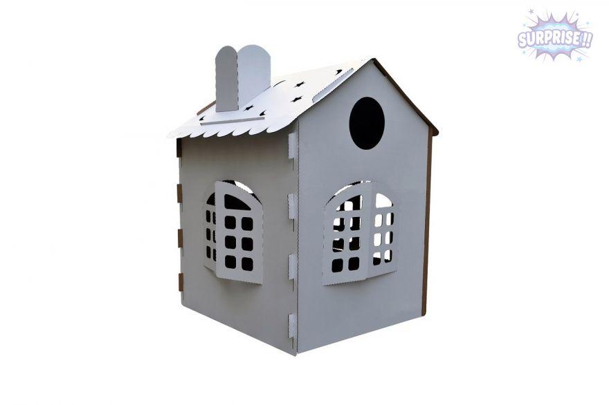 «Чудо-дом мечта» ростовой домик из картона