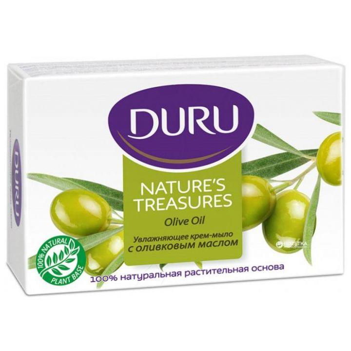 Мыло Duru 90г Natures увлажняющее с оливковым маслом