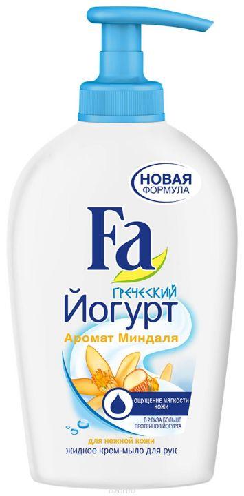 Мыло-крем жидкое Fa 250мл Греческий Йогурт Миндаль