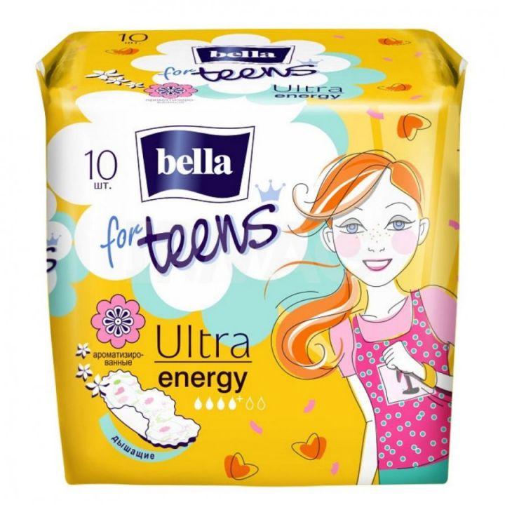 Прокладки Белла for teens ультра energy deo 10шт
