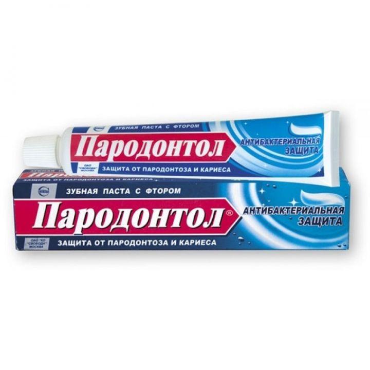Зуб. паста Пародонтол 63г Антибактериальная Защита
