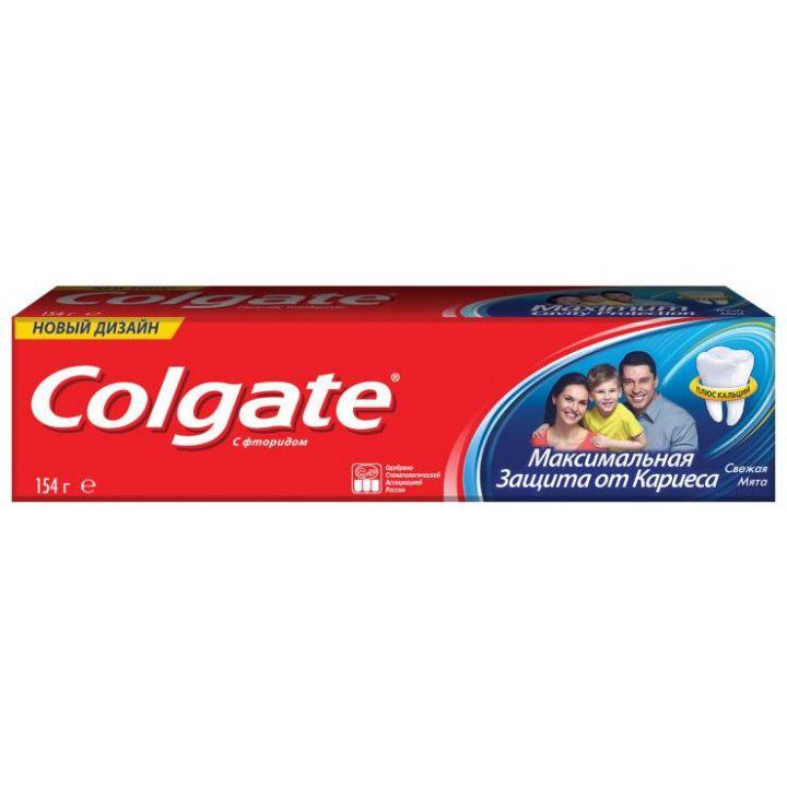 Зуб. паста Colgate 100мл Защита от кариеса свежая мята