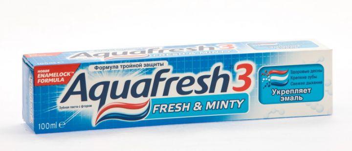 Зуб. паста Aquafresh-3 синий 100мл