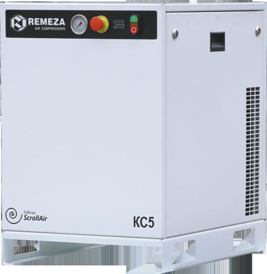 Спиральный безмасляный компрессор КС3-8(10)А
