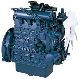Дизельный двигатель Kubota V2403-M-T (Турбо)