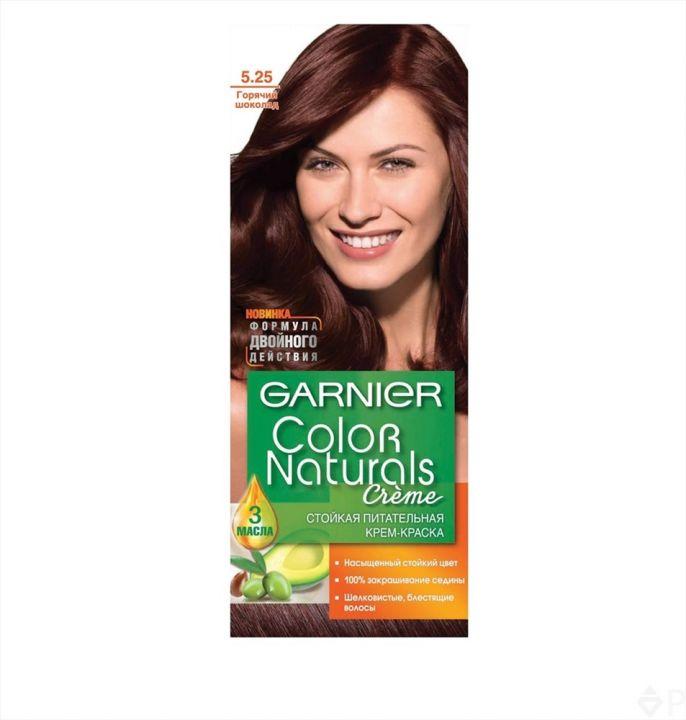 Краска д/волос Garnier Color naturals 5.25 Горяч.шоколад