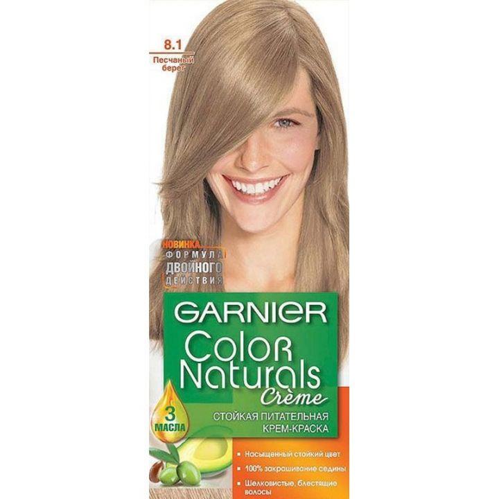 Краска д/волос Garnier Color naturals 8.1 Песчаный берег