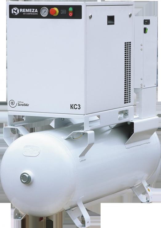 Спиральный безмасляный компрессор КС7-8(10)-270М