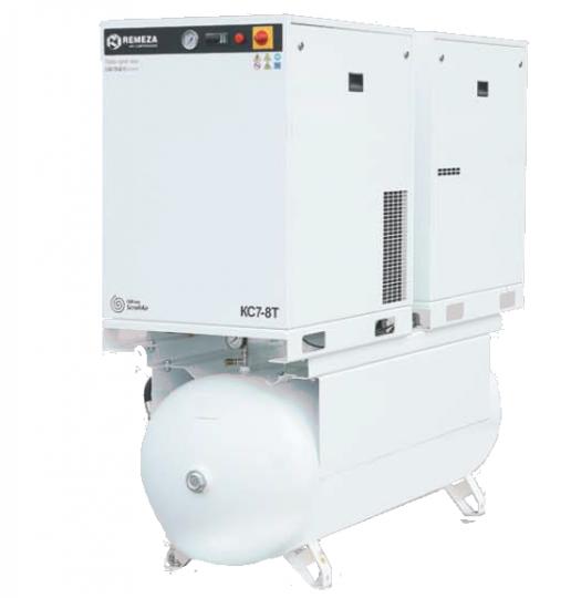 Спиральный безмасляный компрессор КС10-8(10)-500Т