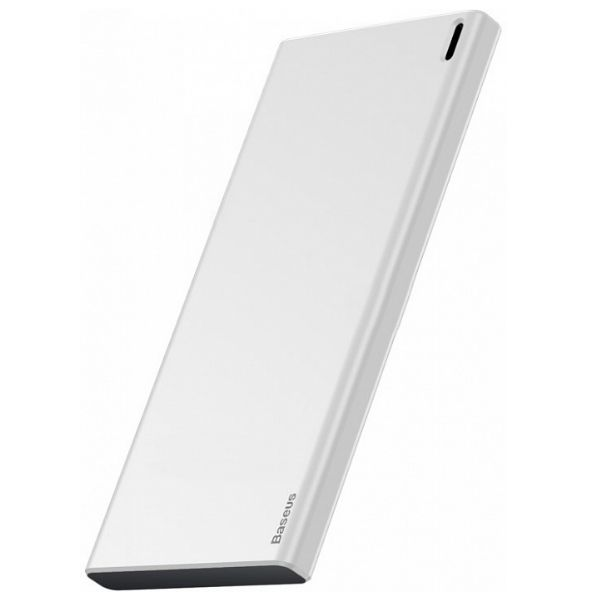 Внешний аккумулятор Baseus Choc Power Bank 10000mAh  White+Black