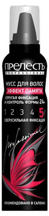 Мусс д/волос Прелесть 160см3 Professional Эффект памяти ССФ