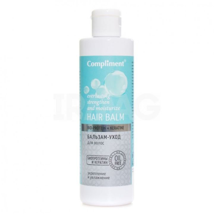Бальзам-уход д/волос Compliment 250мл Bio-protein + keratine
