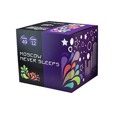 "Батарея салютов ""Moscow never sleeps"" 49 залпов"