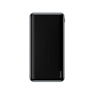 Внешний аккумулятор ультра тонкий Baseus Power Bank Simbo Smart 10000 mAh черный