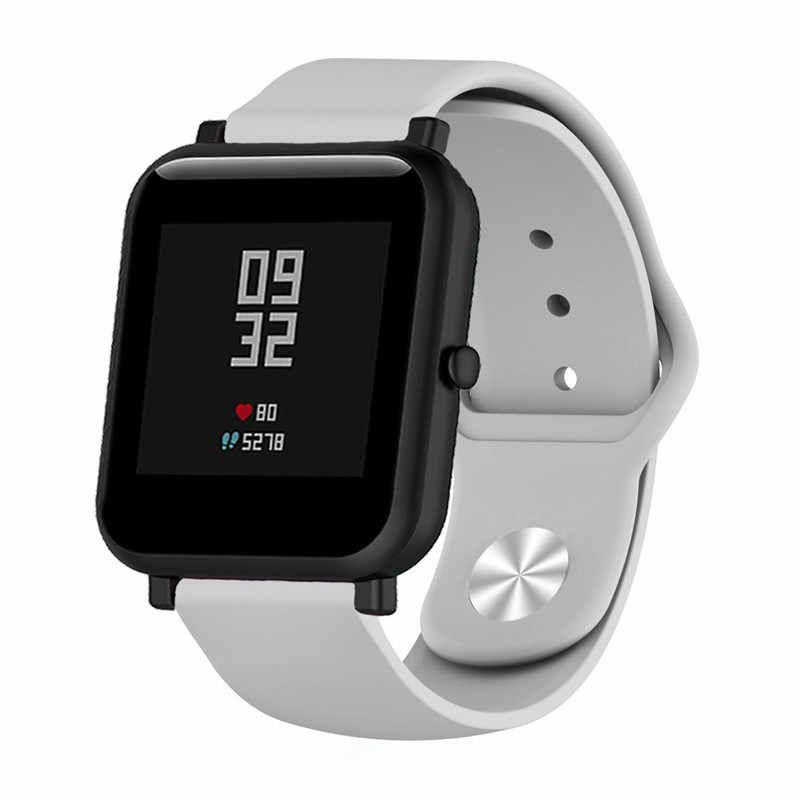 Сменный ремешок для Умных часов  Amazfit Bip Smartwatch (Серый)