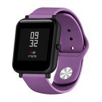 Сменный ремешок для Умных часов  Amazfit Bip Smartwatch (Фиолетовый)