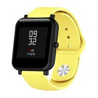 Сменный ремешок для Умных часов  Amazfit Bip Smartwatch (Жёлтый)