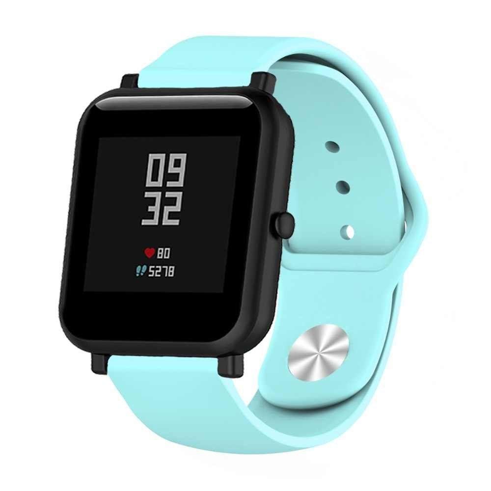 Сменный ремешок для Умных часов  Amazfit Bip Smartwatch (Голубой)