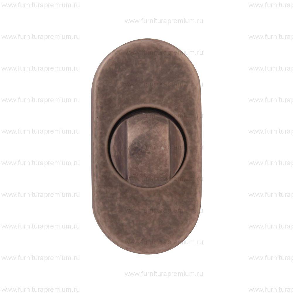 Накладка-фиксатор Melodia OVAL F WC для профильных дверей.