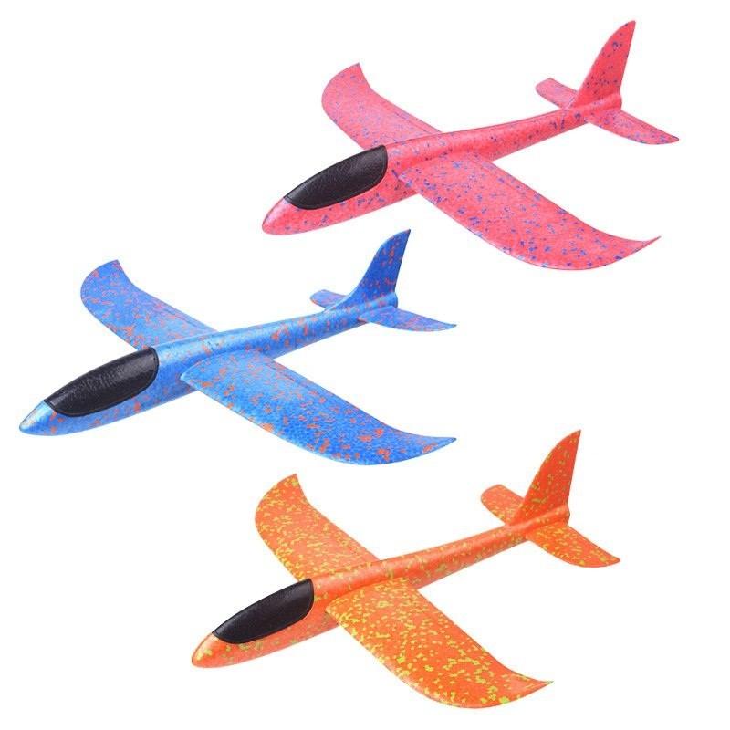 Самолет Планер 35 см, цвета в ассортименте
