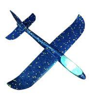 Самолет Планер 35 см LED подсветка в ассортименте