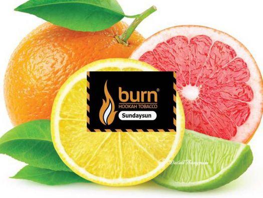 Burn - Sunday Sun (цитрусовый микс)